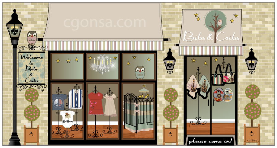 Bibs & Cribs - Boutique