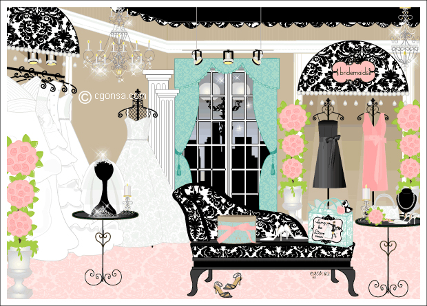 Bridal - boutique scene